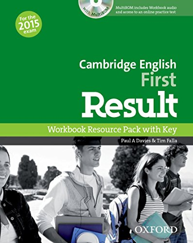 9780194511803: Cambridge English: First Result: First Result Workbook with Key Exam CD-R Pack 2015 Edition