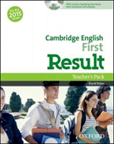 9780194511872: Cambridge English: First Result: First Result 2015. Con Teacher's Book. DVD