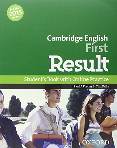 9780194511971: Cambridge English First Result Student's Book with Online Practice