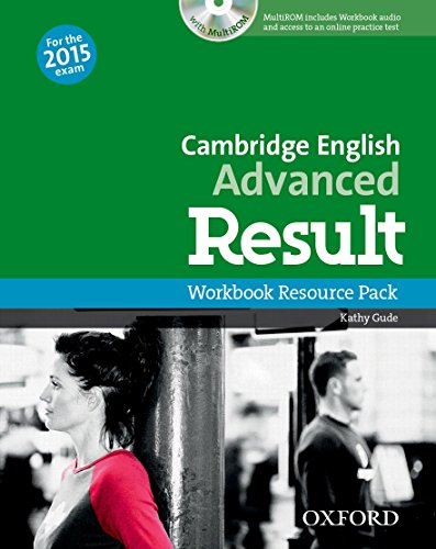 9780194512350: Cambridge English: Advanced Result: CAE Result Workbook without Key + CD-ROM 2015 Edition (Cambridge Advanced English (CAE) Result)