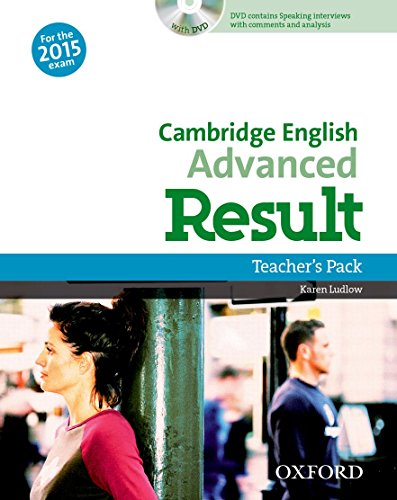 9780194512428: Cambridge English: Advanced Result: CAE 2015 Result: TB. Con DVD
