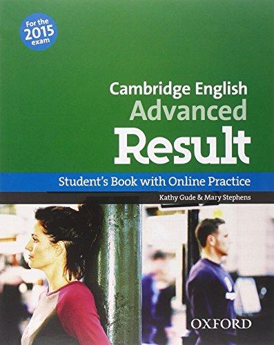 9780194512473: CAE 2015 advanced result. Student's book-Workbook. Without key. Per le Scuole superiori. Con CD-ROM. Con espansione online