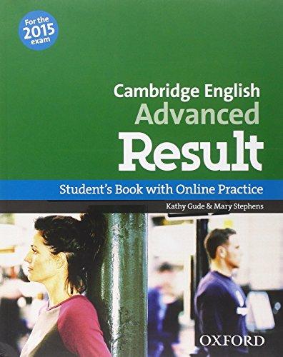 9780194512480: CAE 2015 advanced result. Student's book-Workbook. With key. Con espansione online. Per le Scuole superiori. Con CD-ROM