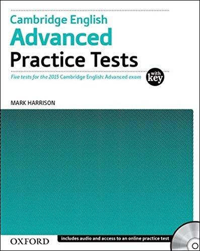 9780194512626: Cambridge English Advanced Practice Tests: CAE 2015 advanced practice tests. Student's book. With key. Con espansione online. Per le Scuole superiori. Con CD-ROM