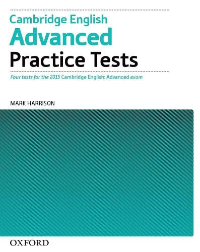 9780194512671: Cambridge English Advanced Practice Tests Tests Without Key