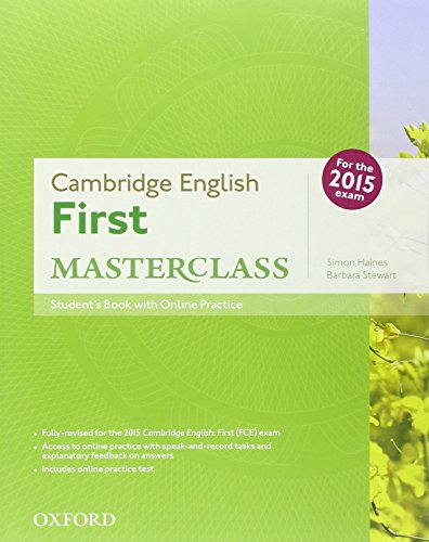 9780194512725: First masterclass. Student's book-Workbook-2 test online. Without key. Per le Scuole superiori. Con CD-ROM. Con espansione online