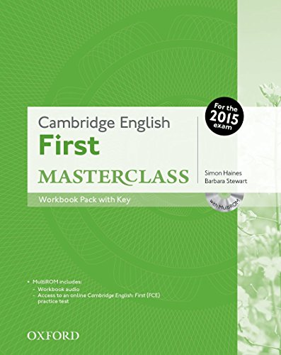 9780194512848: Cambridge English: First Masterclass: First masterclass. Workbook. With key. Con espansione online. Per le Scuole superiori. Con CD-ROM