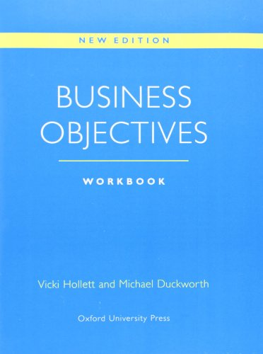 9780194513920: Business Objectives New Edition: Workbook