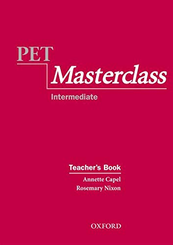 9780194514057: PET Masterclass: Teacher's Book