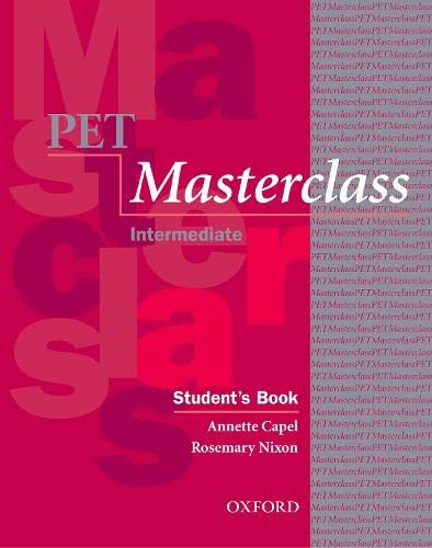 9780194514088: PET Masterclass:: Preliminary English Test Masterclass: Student's Book and Introduction to Preliminary English Test Pack (Preliminary English Test (Pet) Masterclass)