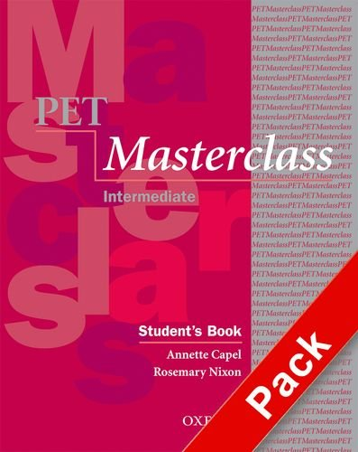 9780194514125: Pet masterclass. Student's book-Workbook-Intro. Without key. Con espansione online. Per le Scuole superiori. Con Multi-ROM: Pack Without Key