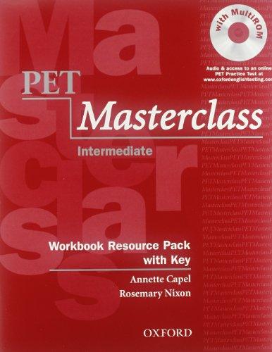 9780194514132: Pet masterclass. Student's book-Workbook-Intro. With key. Per le Scuole superiori. Con CD-ROM
