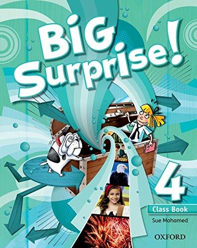 9780194516396: Big Surprise! 4. Class Book - 9780194516396