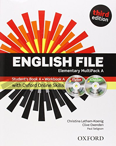 9780194517904: English File third edition: Elementary: MultiPACK A with iTutor and Online Skills
