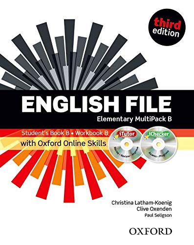 9780194517928: English File third edition: Elementary: MultiPACK B with iTutor and Online Skills