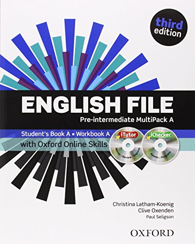 9780194517966: English File third edition: Pre-intermediate: MultiPACK A with iTutor and Online Skills