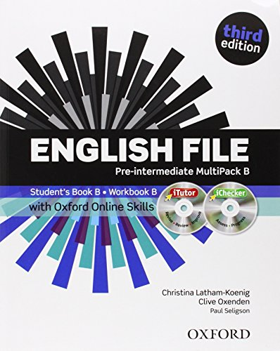 9780194517980: English File third edition: Pre-intermediate: MultiPACK B with iTutor and Online Skills
