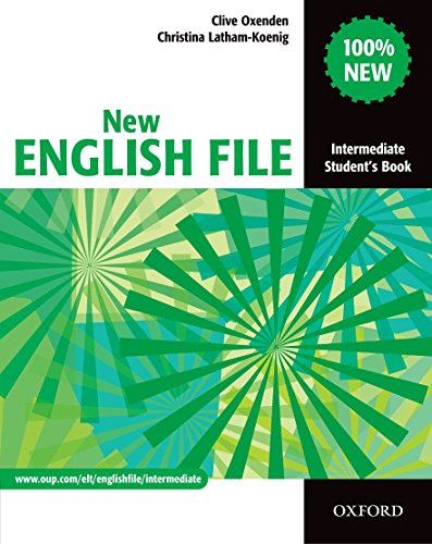 9780194518000: New English file. Intermediate. Student's book. Per le Scuole superiori: Student's Book Intermediate level