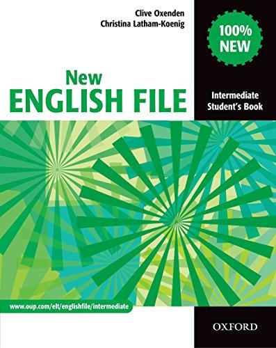 9780194518000: New English File : Intermediate Student's Book