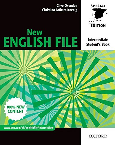 9780194518017: New English File Intermediate. Student's Book for Spain (New English File Second Edition)