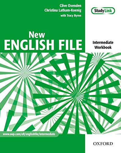9780194518062: New English File: Intermediate: Workbook with key and MultiROM Pack: Six-level general English course for adults