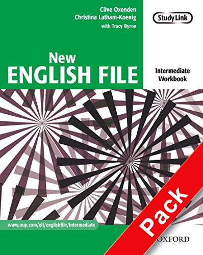 9780194518079: New English File: Intermediate: Workbook with MultiROM Pack: Six-level general English course for adults