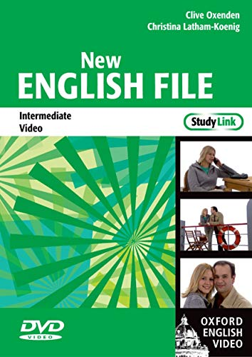 9780194518161: New English File: Intermediate StudyLink Video: Six-level general English course for adults