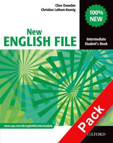 9780194518185: New english file. Intermediate. Student's book-Workbook. With key. Per le Scuole superiori. Con Multi-ROM