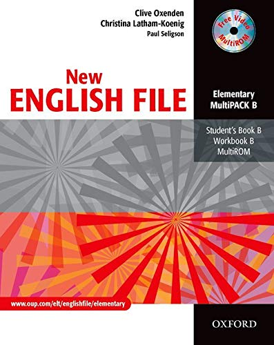 9780194518246: New English File Elementary. MultiPACK B: Multipack B Elementary level (New English File Second Edition)