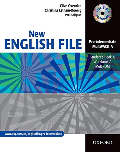 9780194518260: New English File Pre-Intermediate. MultiPACK a: Six-level general English course for adults: Multipack A (Student's Book and Workbook in One) (New English File Second Edition)