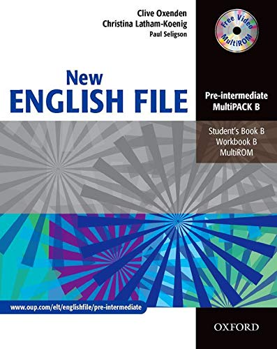 9780194518284: New English File Pre-Intermediate. MultiPACK B: Multipack B (Student's Book and Workbook in One) Pre-intermediate lev (New English File Second Edition)