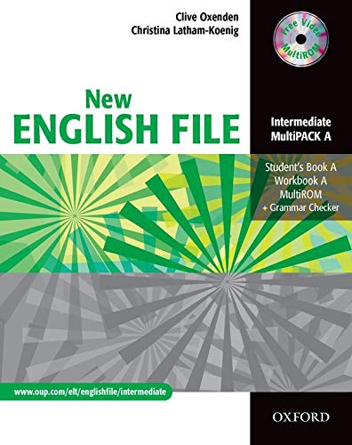 9780194518307: New English File: Intermediate: MultiPACK A: Six-level general English course for adults