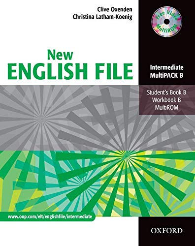 9780194518321: New english file. Multipack B. Student's book-Workbook. With keys. Per le Scuole superiori. Con Multi-ROM