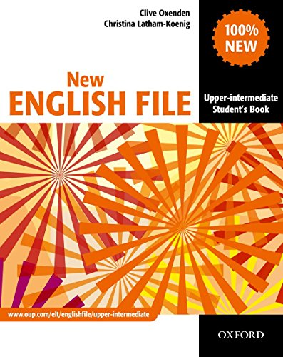 9780194518420: New English File : Upper-Intermediate Student's Book