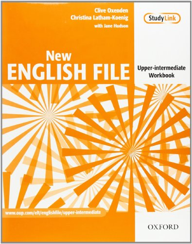 9780194518451: New English File Upper-Intermediate Workbook Without Answer Key: Workbook Upper-intermediate l (New English File Second Edition)