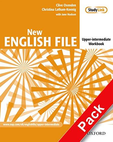 9780194518468: New english file. Upper intermediate. Workbook. With key. Per le Scuole superiori. Con Multi-ROM