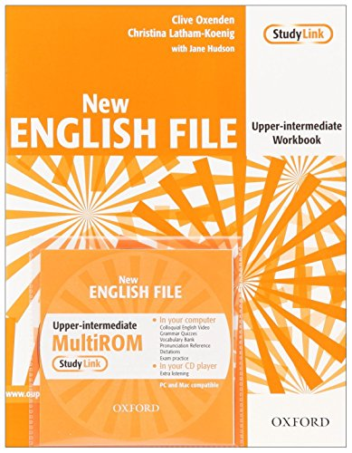 9780194518475: New English File Upper-Intermediate: Workbook with MultiROM Pack: Six-level general English course for adults