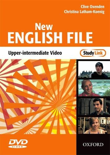 9780194518543: New English File Upper-Intermediate: Upper-Intermediate StudyLink Video: Six-level general English course for adults
