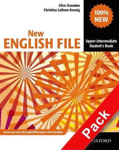 9780194518550: New english file. Upper-intermediate. Student's book-Workbook-Extra book. Without key. Per le Scuole superiori. Con Multi-ROM