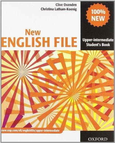9780194518567: New english file. Upper-intermediate. Student's book-Workbook-Extra book. With key. Per le Scuole superiori. Con Multi-ROM