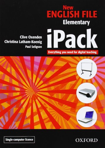 9780194518581: New English File: Elementary: iPack (single-computer): Digital resources for interactive teaching