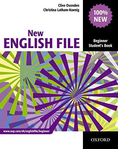 9780194518697: New English file. Beginner. Student's book. Per le Scuole superiori