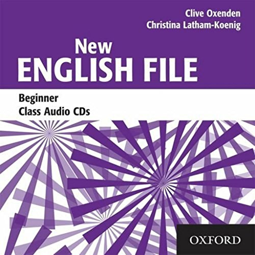9780194518796: New English File: Beginner: Class Audio CDs (3)