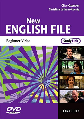 New English File: Beginner StudyLink Video: Six-level general English course for adults: Clive ...