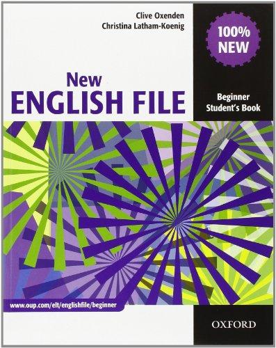 9780194518826: New english file. Beginner. Student's book-Workbook-Italcomp. Without key. Per le Scuole superiori. Con Multi-ROM