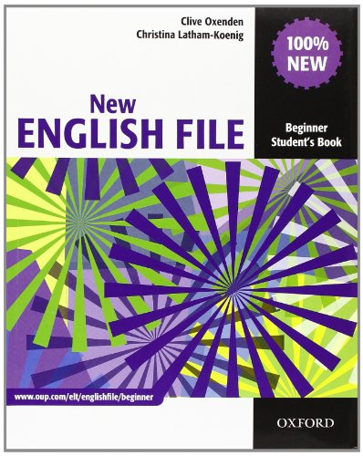 9780194518833: New english file. Beginner. Student's book-Workbook-Italcomp. With key. Per le Scuole superiori. Con Multi-ROM