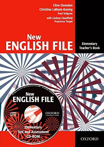 9780194518871: New English File Elementary: Teacher's Book Pack: Teacher's Book and Test Resource CD Pack Elementary level (New English File Second Edition)