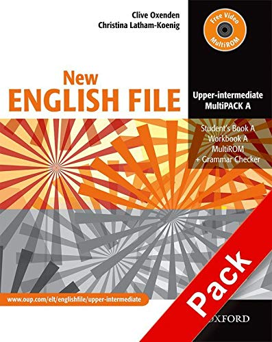 9780194519298: New english file upperint multipack: Student's Book A, Workbook A and a MultiROM (CD) + Grammar Checker: MultiPACK A Upper-intermediate l (New English File Second Edition)
