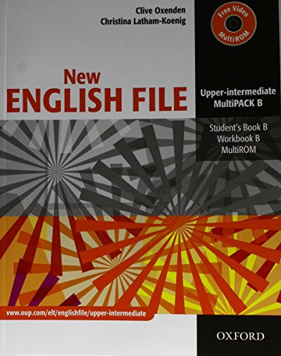9780194519311: New english file. Upper-intermediate. Part B. Student's book-Workbook. With key. Per le Scuole superiori. Con Multi-ROM