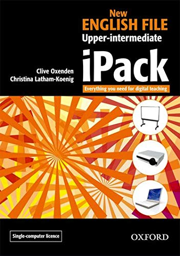 9780194519342: New English File Upper-Intermediate: Ipack Single: IPack Single-computer Upper-intermediate l (New English File Second Edition)